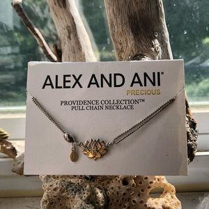 Lotus Alex and Ani pull chain Never worn